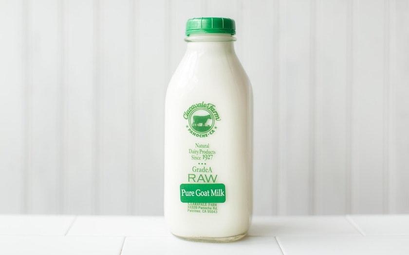 Raw Goat Milk Claravale Farm Sf Bay Good Eggs