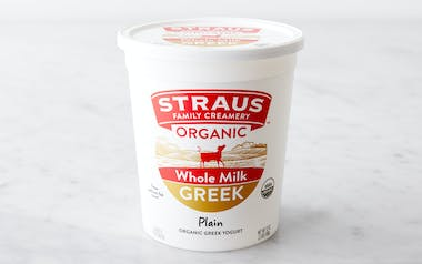 Organic Whole Greek Yogurt