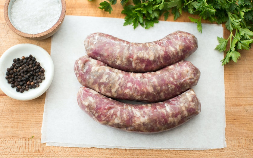 Pasture Raised Apple Fennel Pork Sausage (Frozen)