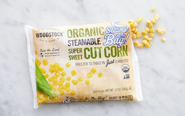 Organic Steamable Frozen Sweet Corn