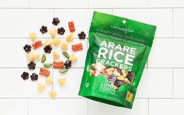 Sweet & Savory Thai Arare Rice Crackers
