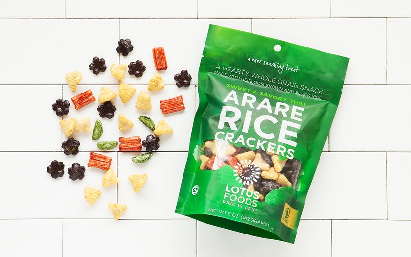 Gluten-Free Sweet & Savory Thai Arare Rice Crackers