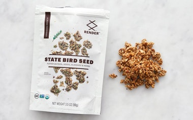 Organic Almond Rosemary Seed Snack