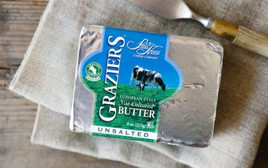 Graziers Unsalted Grass-Fed Butter