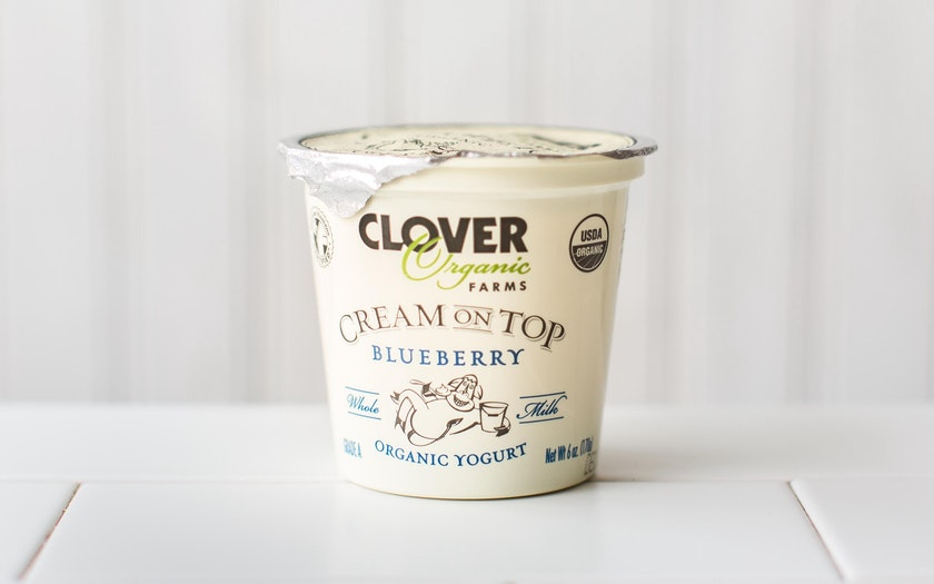 Organic Cream On Top Blueberry Yogurt