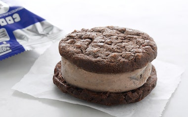 Double Chocolate & Cookies n' Cream Ice Cream Sandwich