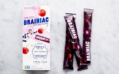 Cherry Vanilla Yogurt Tubes with Brainpack™