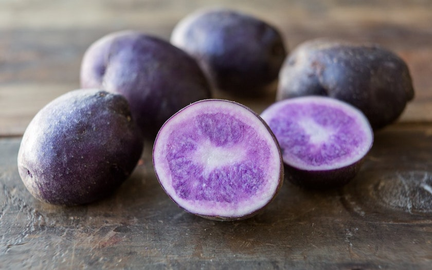 Organic Dry-Farmed Purple Majesty Potatoes