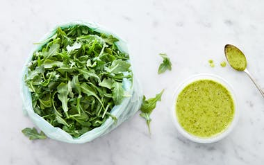 Pre-Washed Baby Arugula with Cilantro Lime Vinaigrette