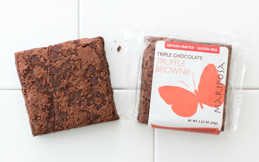 Gluten-Free Triple Chocolate Brownie