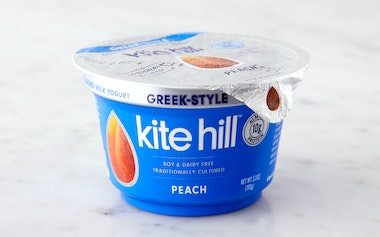 Peach Greek-Style Almond Milk Yogurt