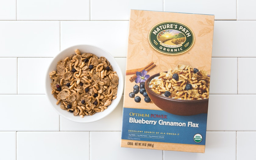 Organic Optimum Power Blueberry Cinnamon Flax