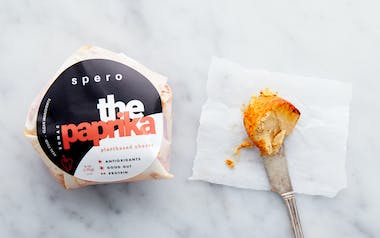 Plant-Based Paprika Flavored Cheese