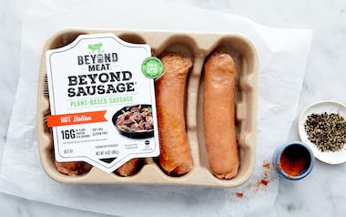 Beyond Meat Plant-Based Hot Italian Sausage (Frozen)