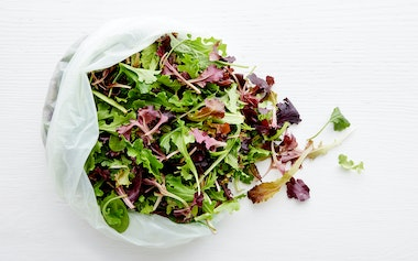 Pre-Washed Organic Salad Mix