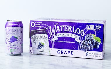 Grape Sparkling Water