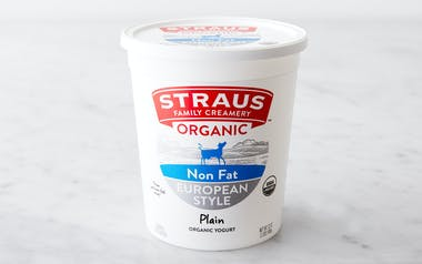Organic Plain Nonfat Yogurt