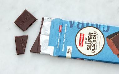 Organic Dark Super Blackout Chocolate Bar (90%)