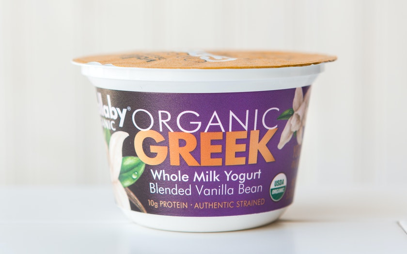 Organic Vanilla Whole Milk Greek Yogurt