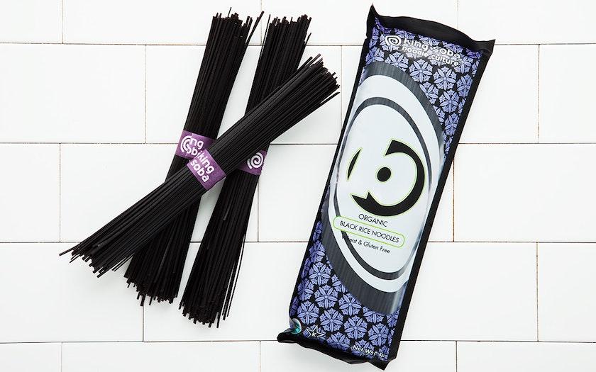 Organic Black Rice Noodles - King Soba - SF Bay | Good Eggs