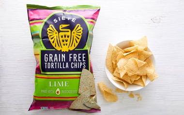Grain-Free Lime Tortilla Chips