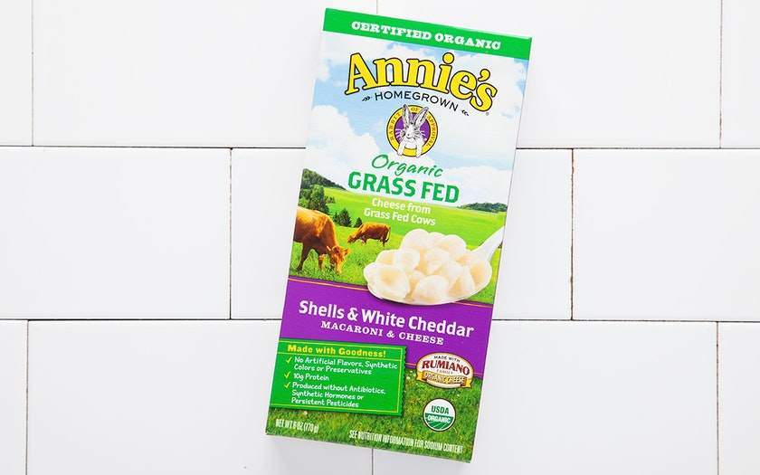 Organic Shells & Grass-Fed White Cheddar Pasta