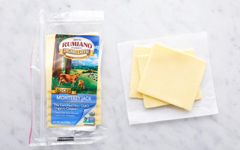 Organic Sliced Monterey Jack - Rumiano Cheese Company