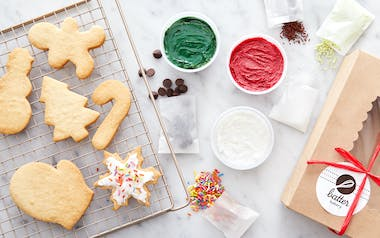 Holiday Hand Decorated Shortbread Kit