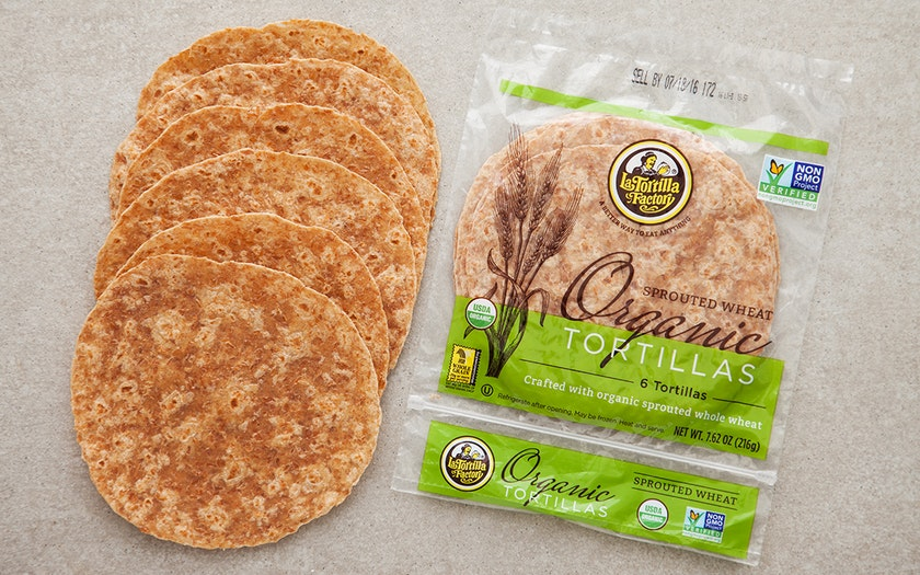 Organic Sprouted Wheat Tortillas