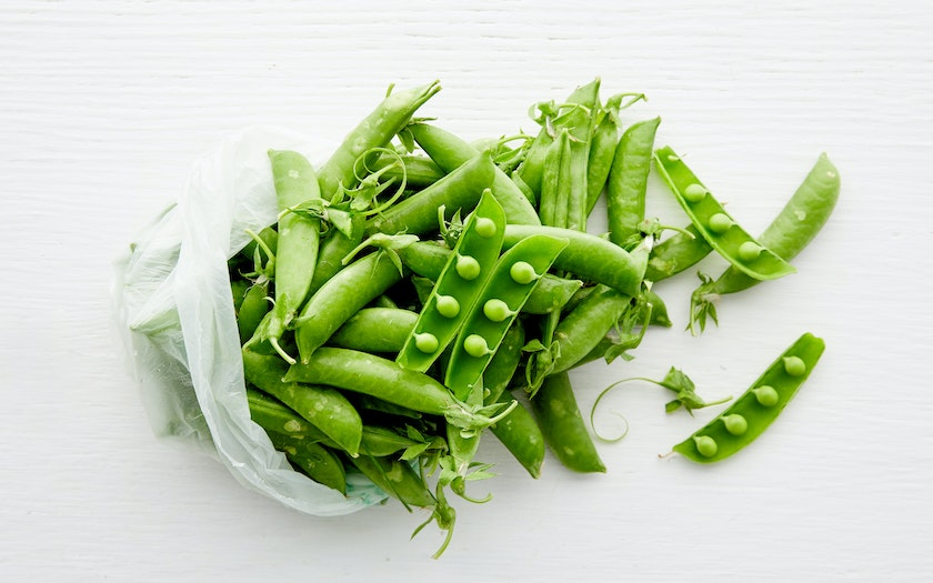Organic Sugar Snap Peas Tutti Frutti Farm Sf Bay