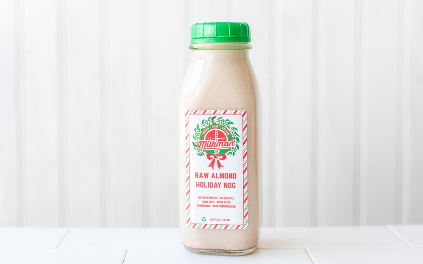Raw Coconut Almond Holiday Nog (Pint)