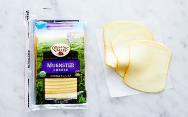 Organic Sliced Muenster Cheese