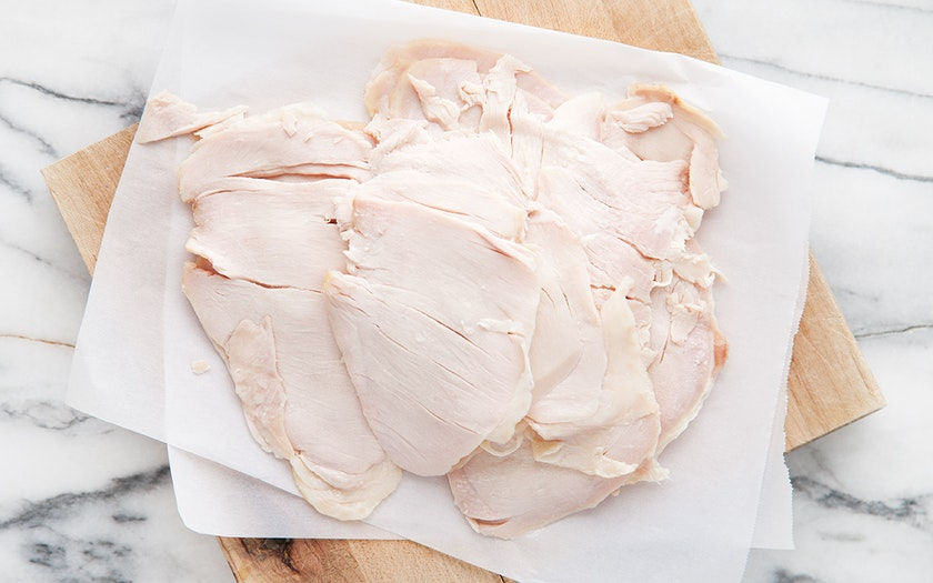 Sliced Smoked Turkey Breast