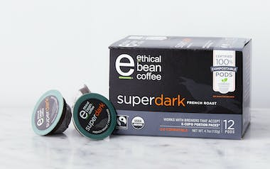 Superdark French Roast Compostable Coffee Pods