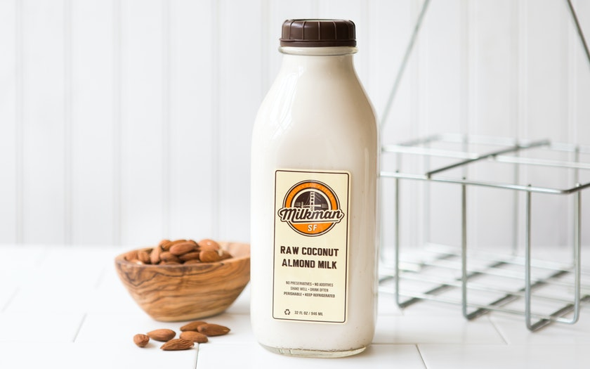 Raw Coconut Almond Milk (Quart)