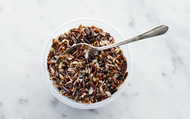 Cooked Wild Rice