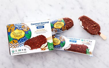Organic Vegan Coconut Almond Chocolate Bars