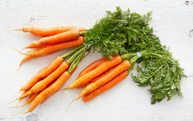 Organic Bunched Carrot Trio
