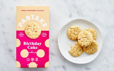 Vegan & Gluten-Free Birthday Cake Cookies