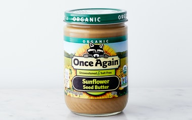 Organic Unsweetened Sunflower Seed Butter
