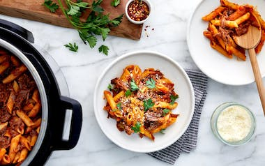 Instant Pot Beef Ragù with Penne