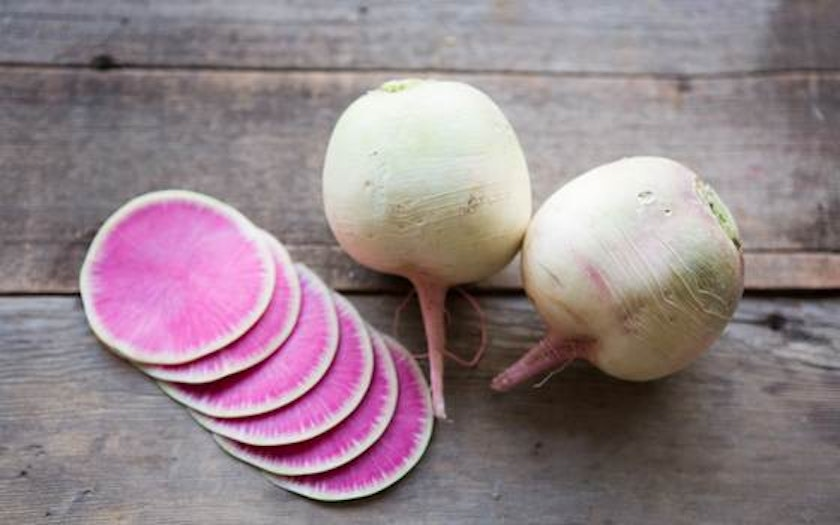 Organic Watermelon Radishes