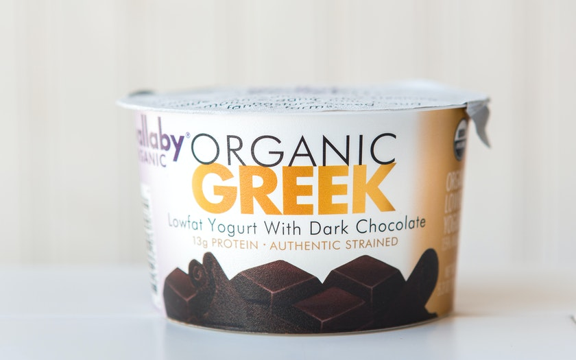Organic Dark Chocolate Lowfat Greek Yogurt