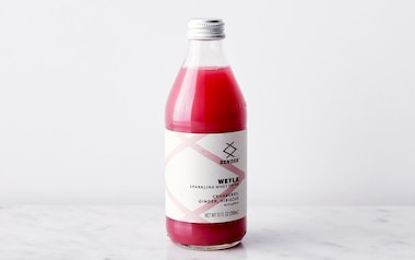 Sparkling Cranberry Ginger Hibiscus Whey Drink