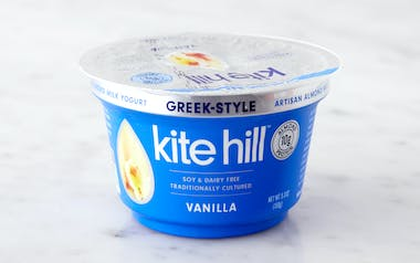 Vanilla Greek-Style Almond Milk Yogurt
