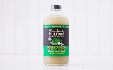 Organic Garlic Dill Pickle Probiotic Gut Shot