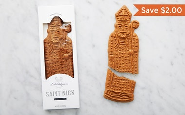 Large Saint Nick Speculoos Cookie