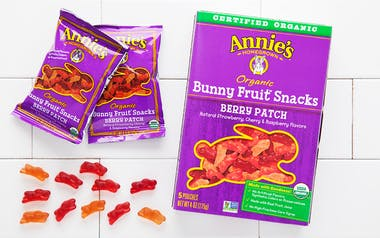 Organic Berry Patch Bunny Fruit Snacks (Vegan)