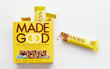 Organic Chocolate Banana Granola Bars