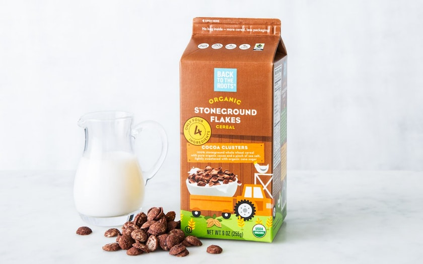 Organic Cocoa Clusters Cereal